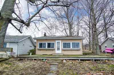North Webster Single Family Home For Sale: 91 EMS W 15 Ln Common