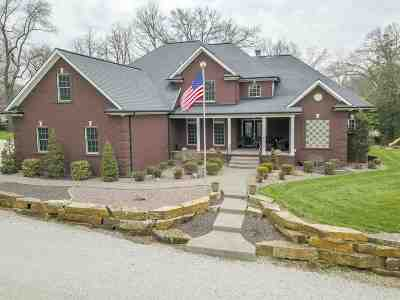 Evansville Single Family Home For Sale: 3421 Stringtown Road
