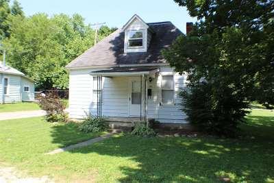 Wabash Single Family Home For Sale: 1171 Jones