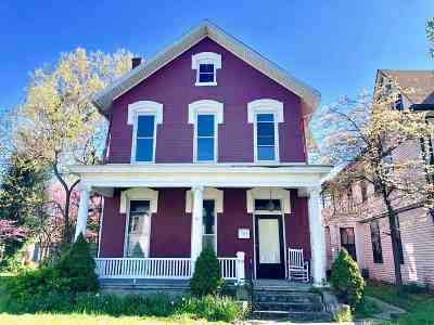 Evansville Single Family Home For Sale: 213 Washington Avenue
