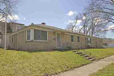 South Bend Single Family Home For Sale: 2520 Wall Street