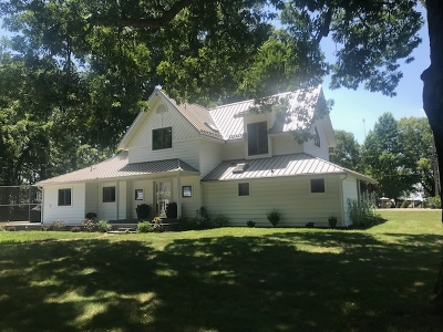 Kosciusko County Single Family Home For Sale: 12274 N Seth Ward Road