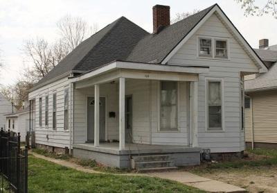 Evansville IN Single Family Home Back On Market: $29,000