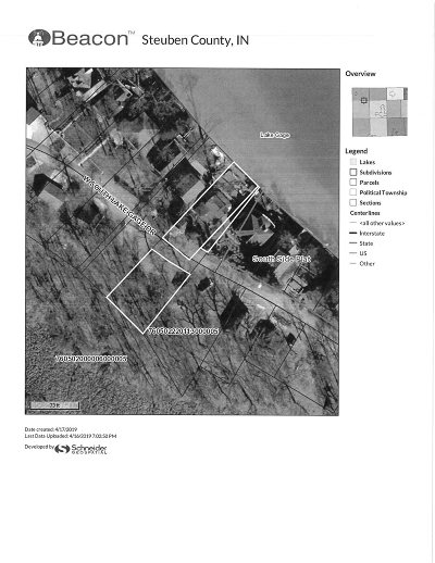 Angola Residential Lots & Land For Sale: 6550 W Lake Gage Drive
