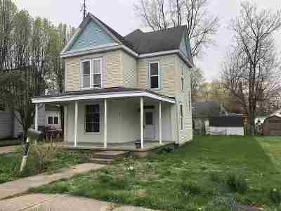 Fairmount Single Family Home For Sale: 612 S Main St Street