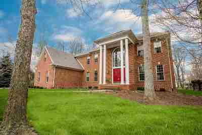 Fort Wayne Single Family Home For Sale: 12002 Woodbourne Court