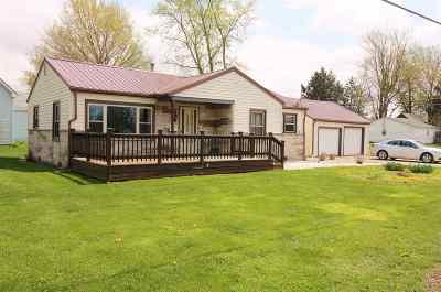 Fairmount Single Family Home For Sale: 224 N Buckeye St Street