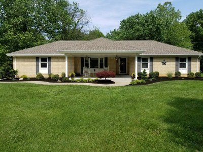 Evansville Single Family Home For Sale: 906 Agathon Drive