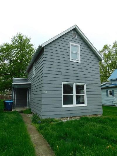 Huntington Single Family Home For Sale: 958 Iowa Street