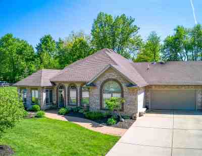 Evansville Single Family Home For Sale: 8240 Wolf Creek Court