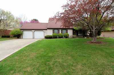Marion Single Family Home Cont-Accptngbackupoffers: 1407 Marlin Drive