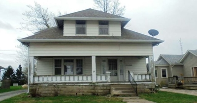 Huntington Single Family Home For Auction: 9163 W 800 North
