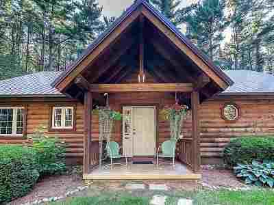 Steuben County Single Family Home For Sale: 105 Lane 100a Pine Canyon Lake Lake