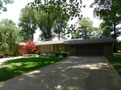 Wabash Single Family Home For Sale: 1035 St. James Court
