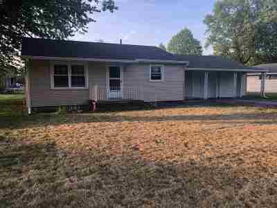 Swayzee Single Family Home For Sale: 105 E Lewis Street
