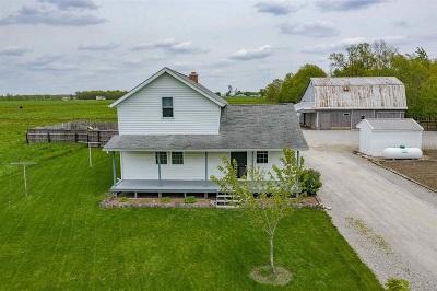 Allen County Farm & Ranch For Sale: 18690 Chaney Road