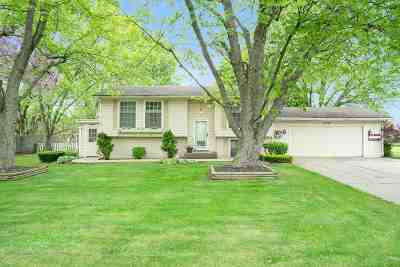 Elkhart Single Family Home For Sale: 52158 County Road 9