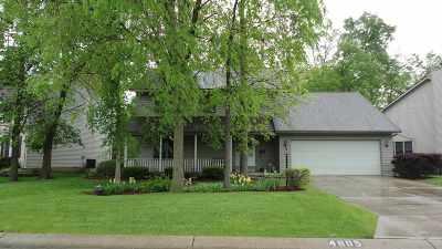 Fort Wayne Single Family Home For Sale: 4805 Oak Knob Run