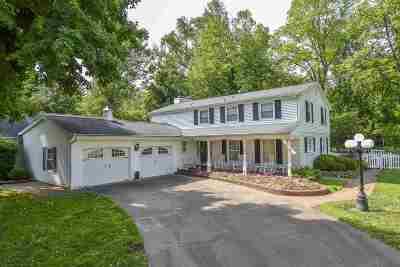 Evansville Single Family Home For Sale: 7400 Wren Drive
