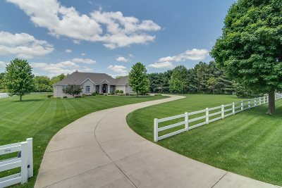 St. Joseph County Single Family Home For Sale: 50905 Fox Trail