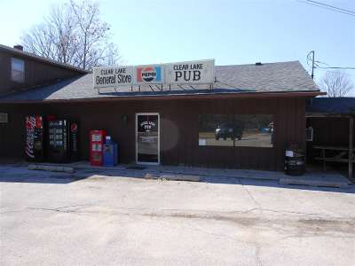 Steuben County Commercial For Sale: 630 E Clear Lake Drive