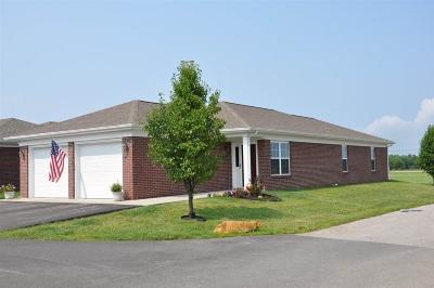 Evansville Condo/Townhouse For Sale: 7342 Megan Brooke Lane