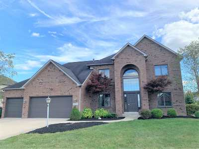 Fort Wayne Single Family Home For Sale: 12105 Fairway Winds Court
