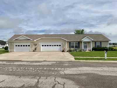 Gas City Single Family Home For Sale: 70 Cobblestone Boulevard