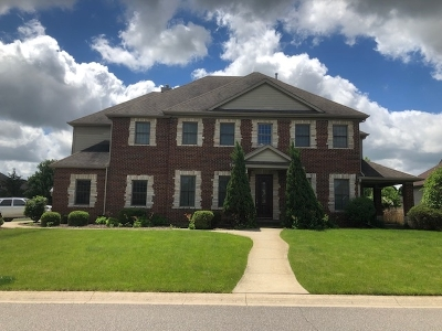 Fort Wayne Single Family Home For Sale: 12003 Fairway Winds Court