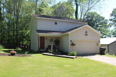 Angola Single Family Home For Sale: 95 Lane 285 Crooked Lake