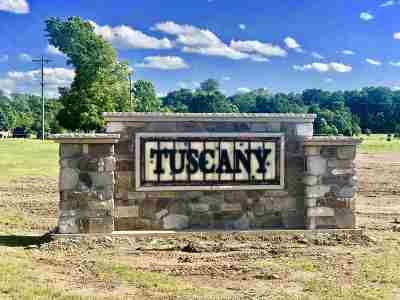 Kosciusko County Residential Lots & Land For Sale: Tuscany Lot 33 Crossing
