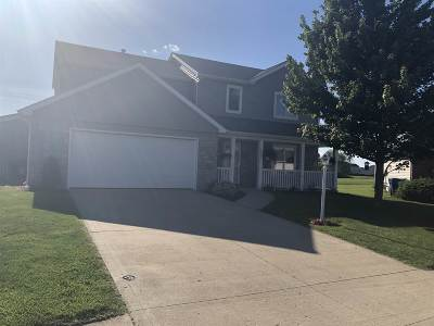 Fort Wayne Single Family Home For Sale: 3430 Quiet Eddy Court
