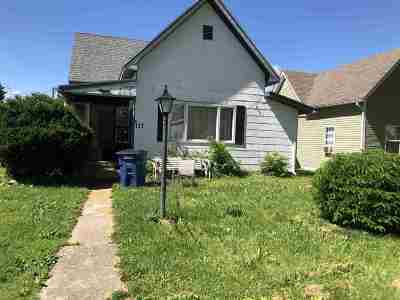Marion Single Family Home For Sale: 117 E Stephenson Street