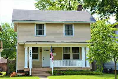 Fort Wayne Single Family Home For Sale: 1412 N Anthony Boulevard