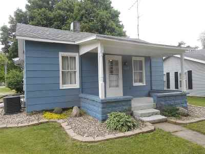 St. Joseph County Single Family Home For Sale: 320 W Front Street