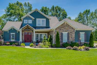 St. Joseph County Single Family Home For Sale: 18164 Gilmore Drive