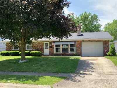 Marion Single Family Home For Sale: 619 N Bradner Avenue