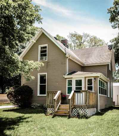 Plymouth Single Family Home For Sale: 518 Webster Avenue