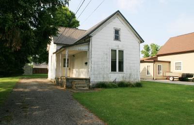 Wabash Single Family Home For Sale: 241 Sheridan Street