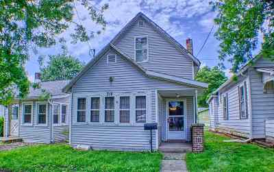 Warsaw IN Single Family Home For Sale: $60,000