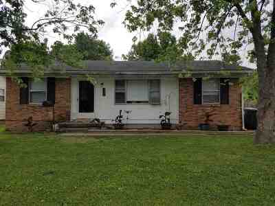 Evansville Single Family Home For Sale: 2613 Hawthorne Avenue