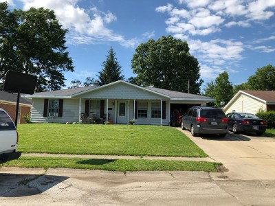 Marion Single Family Home For Sale: 1812 W Wilno Drive