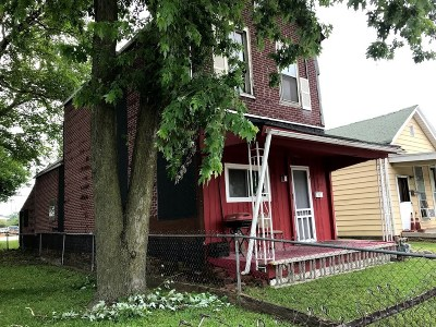 Evansville IN Single Family Home For Sale: $25,000