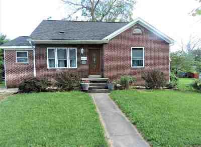 Huntingburg Single Family Home For Sale: 209 E 1st Avenue