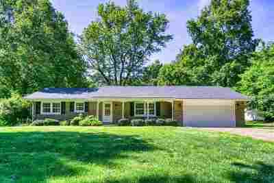 Newburgh Single Family Home For Sale: 6777 Oak Grove Road