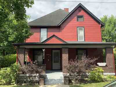 Huntington Single Family Home For Sale: 1130 College Avenue