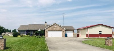 Marion Single Family Home For Sale: 5871 N Lagro Road