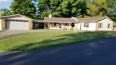 Columbia City Single Family Home For Sale: 2095 Crampton Road