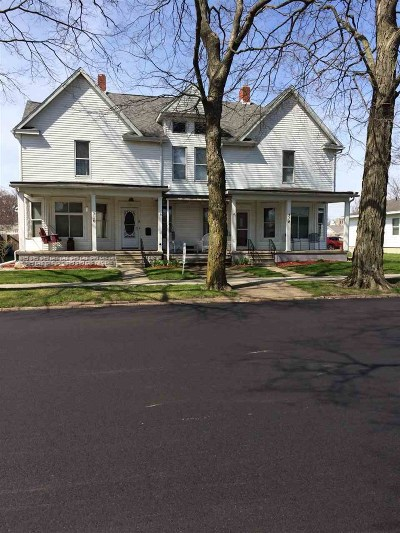 Plymouth IN Single Family Home For Sale: $159,900