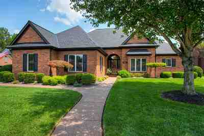 Evansville Single Family Home For Sale: 10919 Eagle Crossing Drive